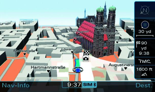 Audi Wants Nvidia For Creating 3D Navigation