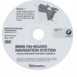 2012 BMW North American Map DVD Professional Region 1 (East) DVD Navigation