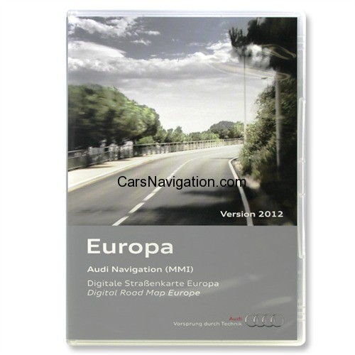 Audi 2g mmi europe 2012 Navigation dvd