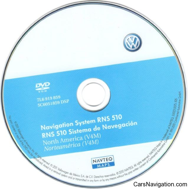 vw navigation system rns510 north america v4m dvd car. Black Bedroom Furniture Sets. Home Design Ideas