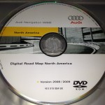 Audi MMI Navigation System DVD Map North America Version 2008/2009 (2010 Update )