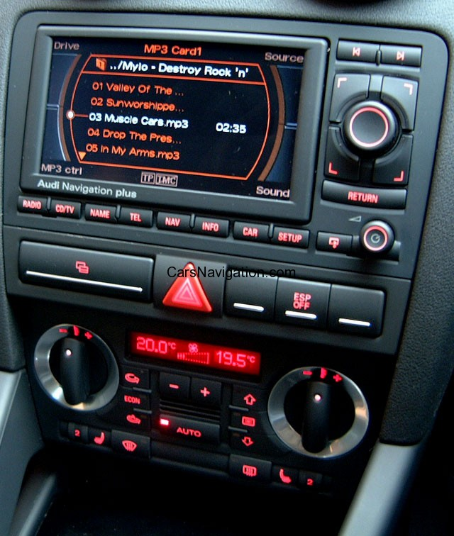 RNSE Car Navigation DVD Maps - Audi rns e