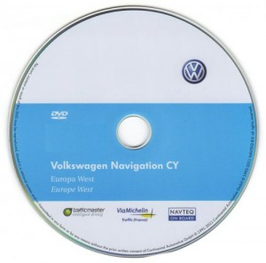 Volkswagen Navigation RNS510-Europe