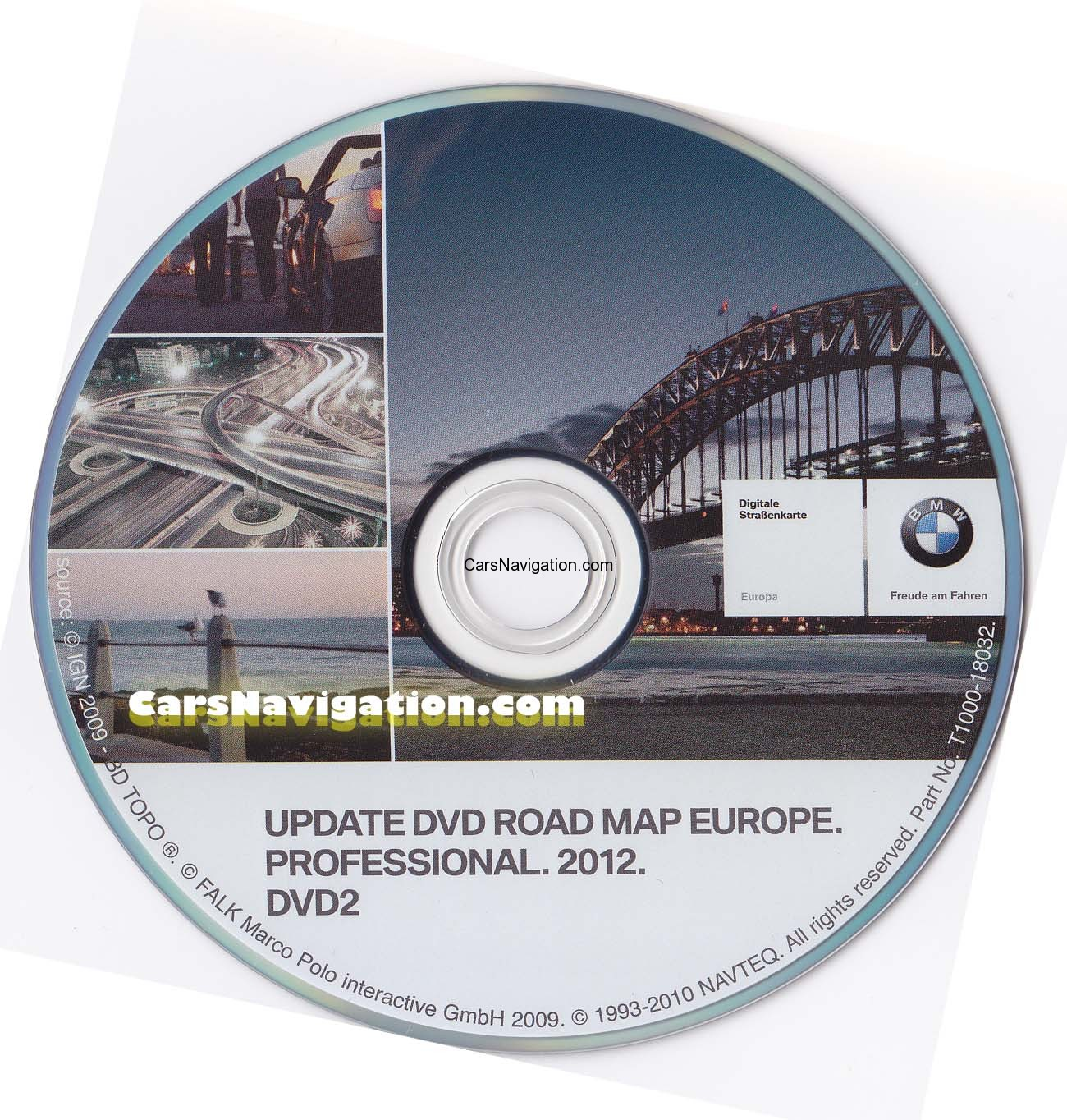 Dvd Navigation Map Europe Toyota Avensis