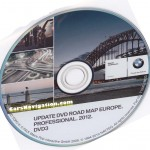 2012 BMW Navigation DVD 3 Road Map Europe PROFESSIONAL Eastern Europe