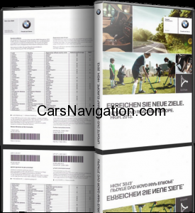 BMW 2013 HIGH NAVIGATON DVD