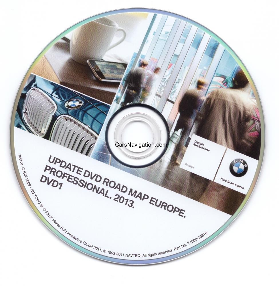2013 Bmw Mini Navigation Dvd Road Map Europe Professional Car Navigation Dvd Maps