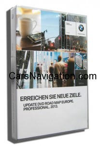 2013 BMW DVD Navigation Europe Proffesional
