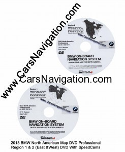 Acura Navigation  on 2013 Bmw North American Map Dvd Professional Region 1 2 East West Dvd