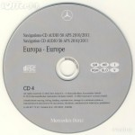 2012 Mercedes Europa Audio 50 APS Version 12.0 NTG1- 5 CD Version