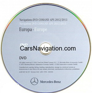 2012 2013 mercedes comand dvd europe aps ntg1 car. Black Bedroom Furniture Sets. Home Design Ideas