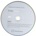2012 Europa Mercedes DVD Audio 50 APS NTG 4-212 v.8.0 DVD-2