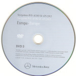 2012 Europa Mercedes DVD Audio 50 APS NTG 4-212 v.8.0 DVD-3