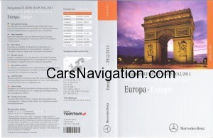 2013 Mercedes NTG2 CD Europe Audio 50 APS Version 14.0