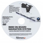 2013 BMW North American Map DVD Professional Region EAST