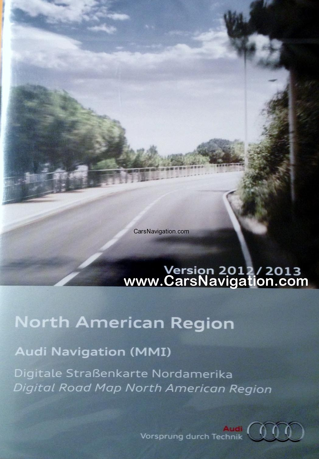 Audi MMI 2G 2012-2013 North America