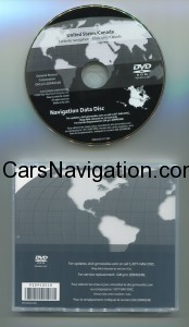 Navigation System Map DVD United States/Canada GM p/n 20940248 V6.0c