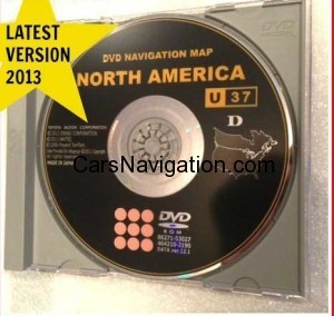 Lexus-Toyota Gen 5 ver 12 - newest navi DVD for 2012-2013