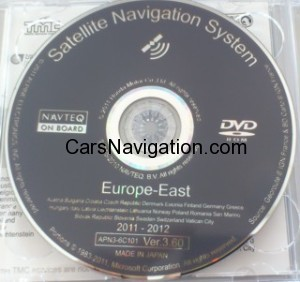 Honda Satellite Navigation System by NAVTEQ ver 3.60 East & West