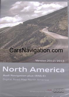 2013 audi navigation plus rns e north america canada. Black Bedroom Furniture Sets. Home Design Ideas