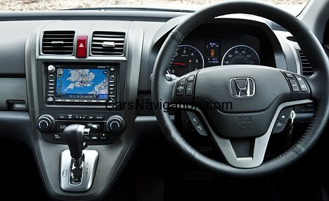 Newest NAVTEQ maps for Honda build-in DVD Satalite Navigation System by Alpine ver.3.70 from March 2013