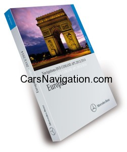 Mercedes Comand Aps NTG2 V15- Navigation DVD Europe