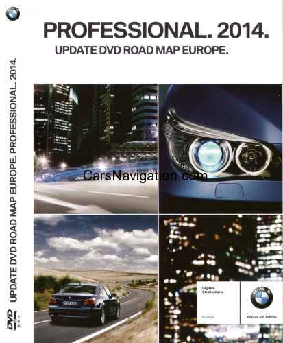 BMW Navigation DVD Road Map Europe Professional 2014