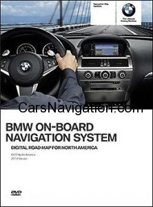 2014 BMW HIGH North America EAST & WEST Navigation Map DVD LATEST