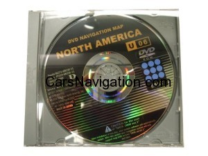 New Genuine OEM Generation 2/3 Lexus Navigation Update DVD, (13.1) U08, East Region
