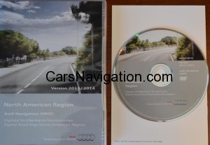 2013-2014 Audi MMI 2G Navigation DVD North America