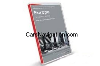 SD Card 2014 Audi MMI 3G HDD navigation Advanced Europe