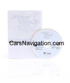 VOLVO - NORTH AMERICA MAP DVD VERSION 2012-2013