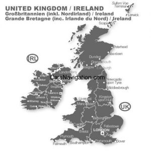 OPEL UK / Irland - Navigations-CD für Opel CD70