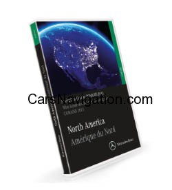 2015 Mercedes Benz North America-Canada Map DVD Harman Becker Comand NTG1 Version 14