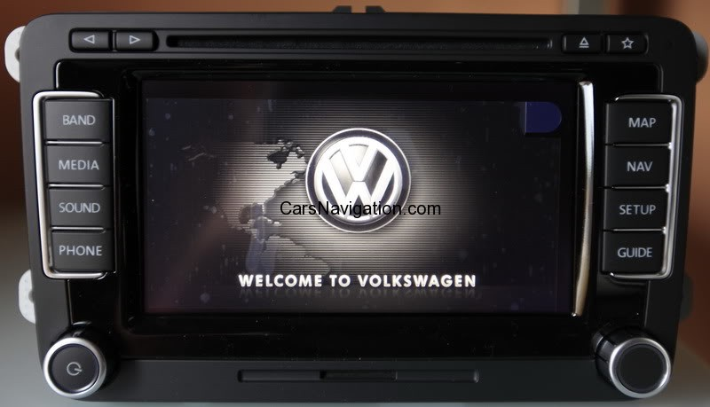 2015 Vw Navigation System Maps Rns510 North America V9m