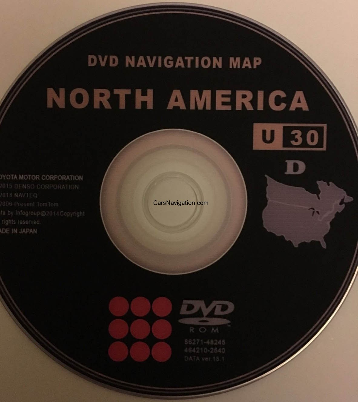 2016 Toyota Lexus Gps Navigation Dvd North American U 30 V 15 1 Gen 4 Car Navigation Dvd Maps
