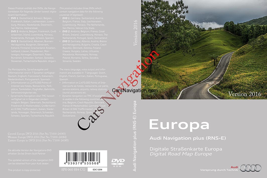 Audi Car Navigation Dvd Maps