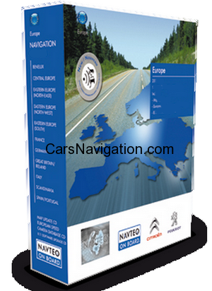2017 Peugeot – Citroen RT3 Europe NaviDrive CD Maps