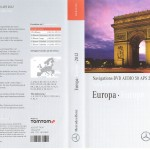 2012 Europa Mercedes DVD Audio 50 APS NTG 4-212 v.8.0