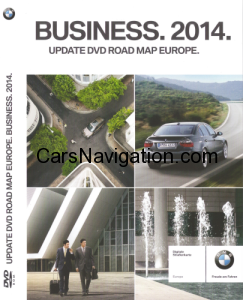 BMW Navigation DVD Road Map Europe Business 2014