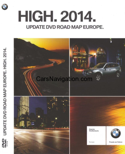 Upgrade DVD Road Maps Europe High 2014