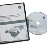 Volkswagen - North America Map DVD Version 8B