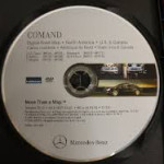 Mercedes Comand Nav DVD North America 2013/14