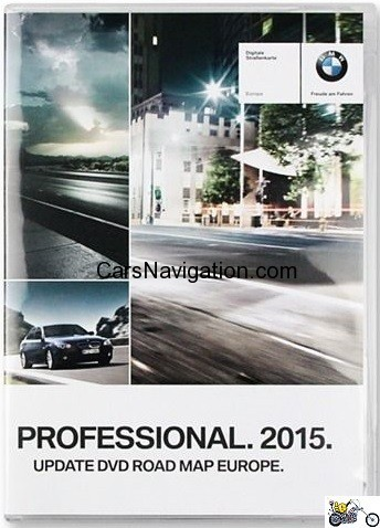 EUROPA - Road Map für BMW Professional (CCC) 2015 (3 DVD)